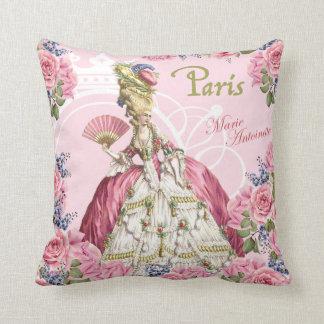 Marie Antoinette rosa Rosen-Rahmen-Kissen Kissen