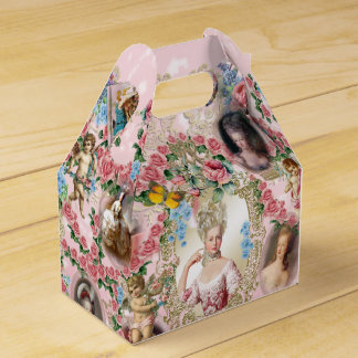 Marie Antoinette  Rose of Versailles Favor Box ga Geschenkschachtel
