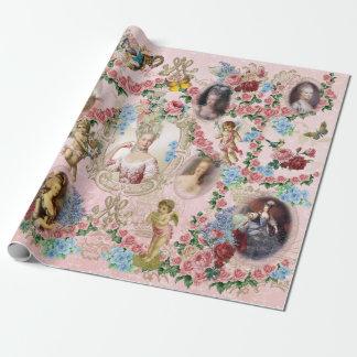 Marie Antoinette Verpackungs-Papier-Rose von Einpackpapier
