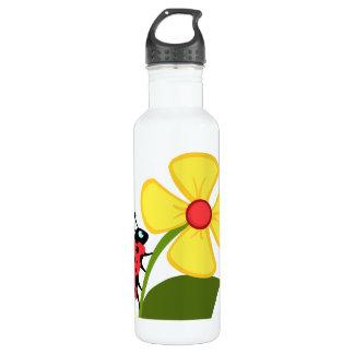 Marienkäfer-Blume Trinkflaschen