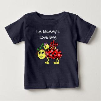 Marienkäfer-Liebe fertigen besonders an oder Baby T-shirt