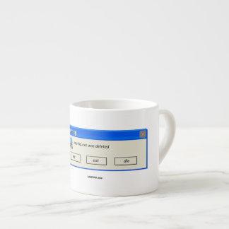 """""""MARINA.exe gelöschte"""" - Espresso-Tasse Espressotasse"""