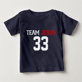 MARINE-BLAU T-Stück Team JESUSS 33 Baby T-shirt