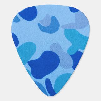 Marine-Blau-Tarnungs-Muster Plektrum