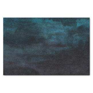 Marine-Blau u. aquamarine moderne Seidenpapier