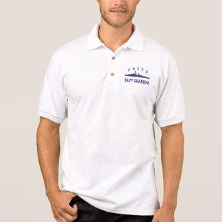 Marine-Großvater Polo Shirt