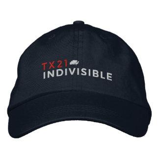 Marine-justierbare Kappe gestickt mit Logo Bestickte Baseballkappen