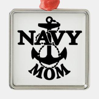 Marine-Mamma-Verzierung Silbernes Ornament