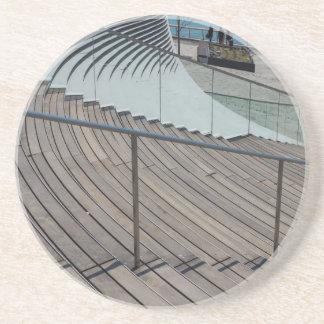 Marine-Pier-Treppe Getränkeuntersetzer