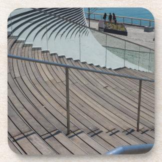 Marine-Pier-Treppe Untersetzer