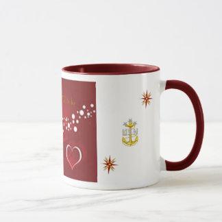 Marine-Seemann Tasse