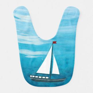 Marine-Segel-Boot Lätzchen