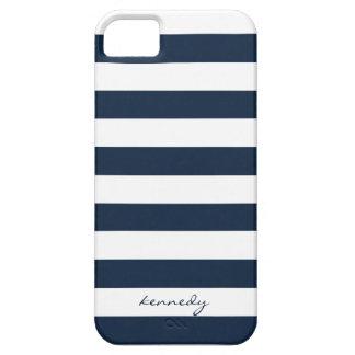 Marine Stripes Muster personalisierten iPhone 5s K Hülle Fürs iPhone 5
