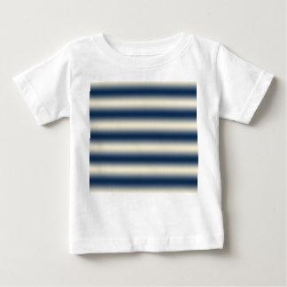 Marineblau zur sandigen gelben Steigung Baby T-shirt