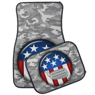 Marineemblem-Camouflage-Tarnung #1 Autofußmatte