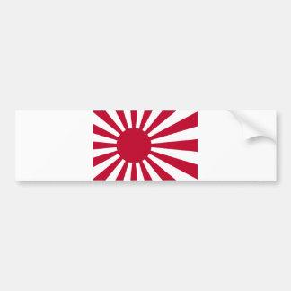Marinefahne von Japan - japanische aufgehende Autoaufkleber