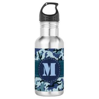 Marinetarnung Edelstahlflasche
