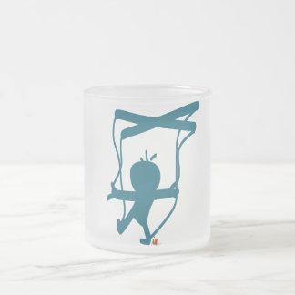 Marioneta. zerteilt mattglastasse