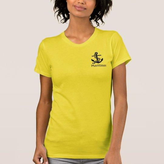 Maritimer Anker Kanada-Shirt T-Shirt