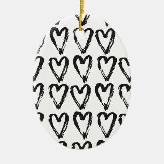 Marjory Woodward Ovales Keramik Ornament