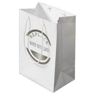 Marketings-Werbeaktion-Geschäfts-Platz IHR LOGO Medium Geschenktüte