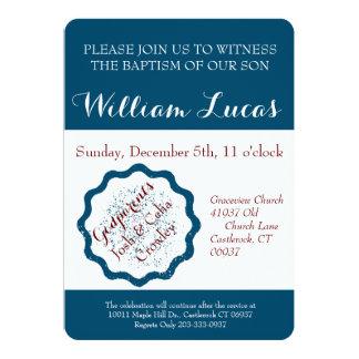 Markieren Sie Taufe-Einladung 12,7 X 17,8 Cm Einladungskarte