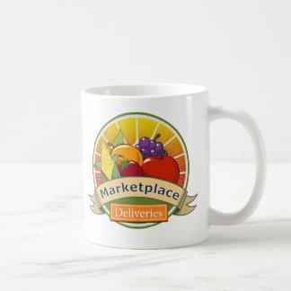 Markt-Lieferungen Kaffeetasse