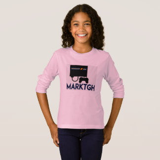 MarkTGH Mädchen-lange Hülse T-Shirt