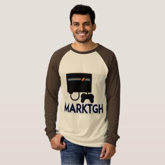 MarkTGH Mann-langes Hülsen-Shirt T-Shirt