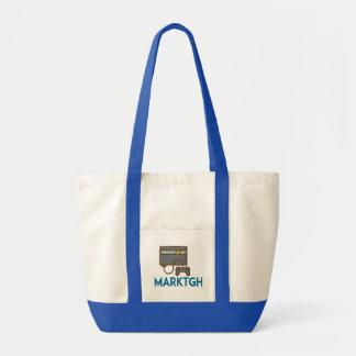 MarkTGH Taschen-Tasche Impulse Stoffbeutel