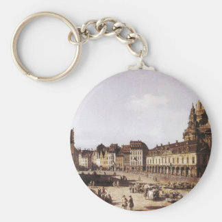 Markts-Quadrat in Dresden durch Bernardo Bellotto Schlüsselanhänger