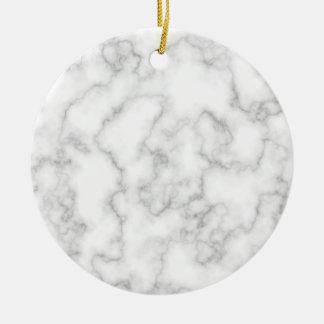 Marmormuster-graues Weiß-gemarmorter Keramik Ornament