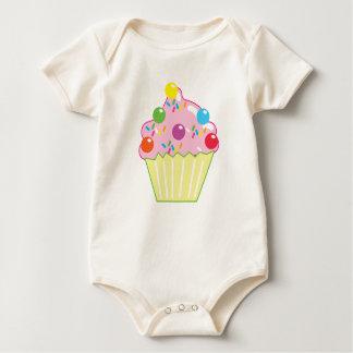 Marmorschokoladen KLEINER KUCHEN Baby Strampler