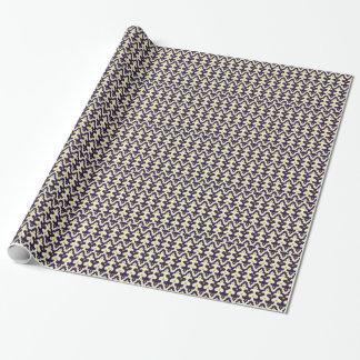 Marokkanisches Muster Damastpaisley-Arabeske girly Geschenkpapier