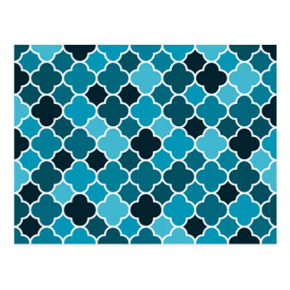 Marokkanisches Muster Postkarte