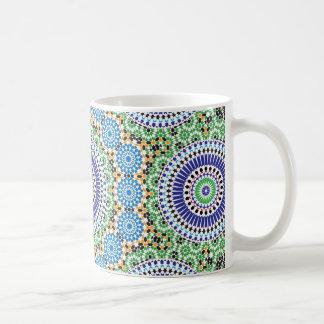 Marokko-Muster-Tasse Kaffeetasse