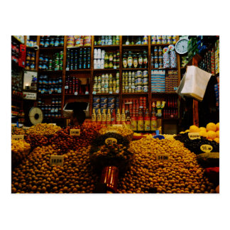 Marokko: Olivgrüne Liebhaber Postkarte