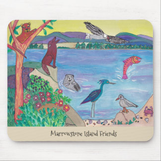 Marrowstone Insel-Freund-Mausunterlage Mousepad