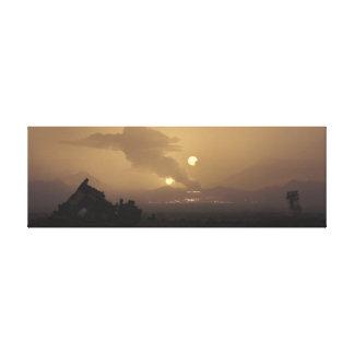 Mars 2251 leinwanddruck
