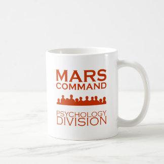 Mars-Befehls-Psychologie-Abteilung Kaffeetasse
