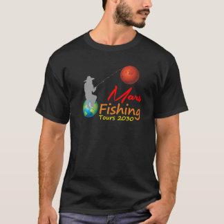 Mars, die Ausflüge fischen T-Shirt