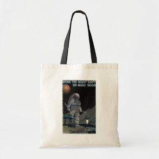 Mars-Einstellung - Nachtschicht-Taschen-Tasche Budget Stoffbeutel