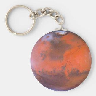 Mars Keychain. Standard Runder Schlüsselanhänger