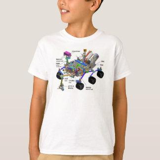 Mars-Vagabund-Diagramm der Teile, Wissenschafts-T T-Shirt