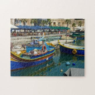 Marsaxlokk malte Boote