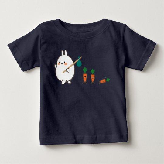 Marschierendes Häschen Baby T-shirt