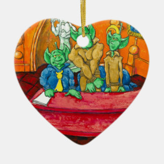 Marsverteidigungs-Tabelle Keramik Ornament