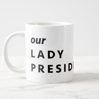 MARTHA WASHINGTON, unsere Dame Presidentess Jumbo-Tasse