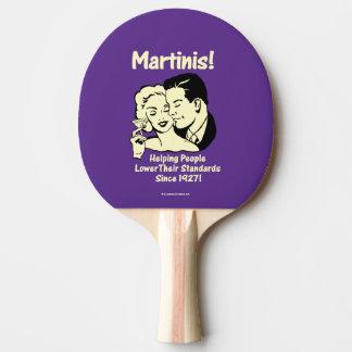 Martinis: Helfende niedrigere Standards Tischtennis Schläger