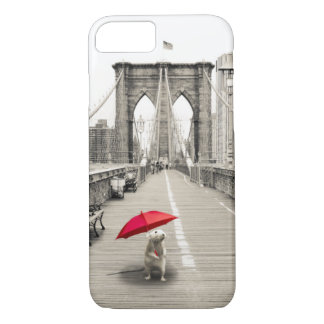 Marty Maus auf dem Brooklyn-Brücke iPhone 7 Fall iPhone 8/7 Hülle